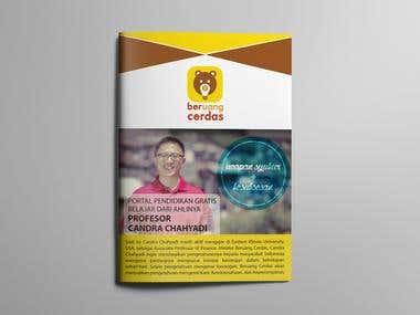 Bi-fold brochure design.