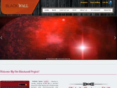 Blackwall E-commerce  Websites