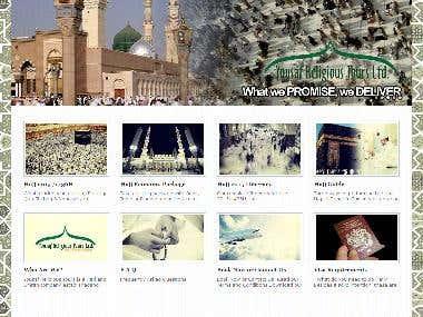 Website for Yusaf Religous Tours
