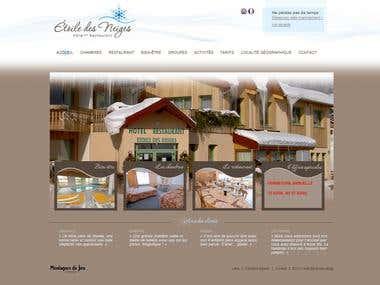 http://www.hoteletoiledesneiges.fr/wp/