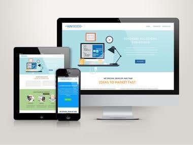 Website for Wavecode Software Company
