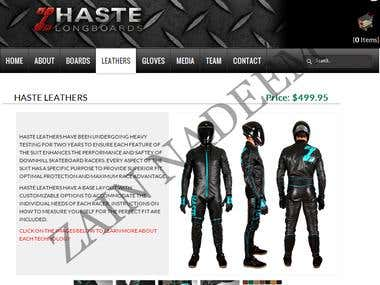 Online leathers Store