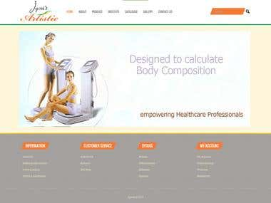 Corporate Website with CMS