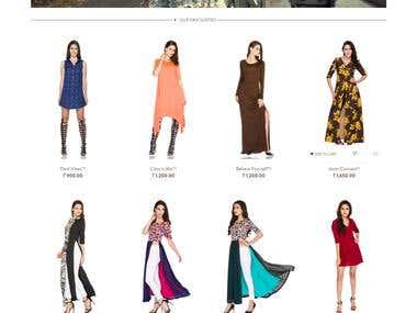 Fashion Clothing Ecommerce Website