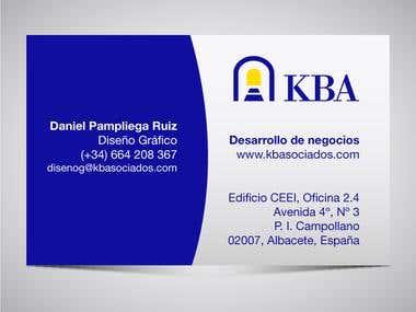 Tarjeta KBAsociados