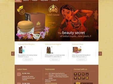 Corporate and Ecommerce Website