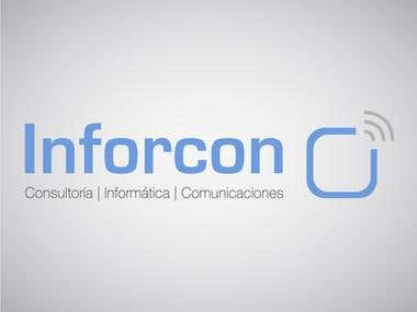 Logotipo Inforcon