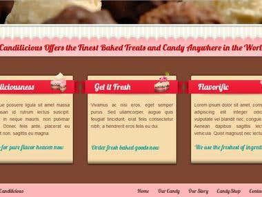 Condilicious  Websites Design 3rd part