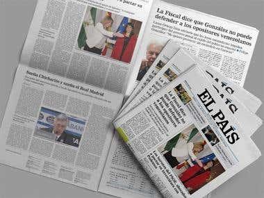 Rediseño diario El Pais