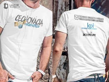 Design T-shirts - Cechovácia informatikov