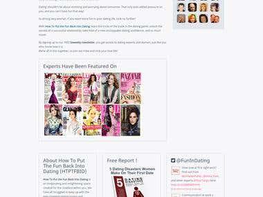WordPress - Fun Back Into Dating - Inbox Magazine
