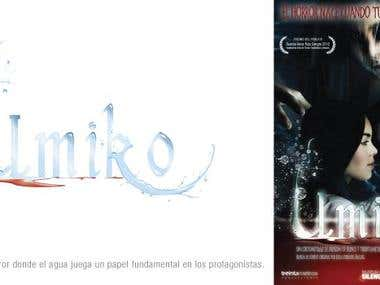 Umiko (horror movie logo and poster)