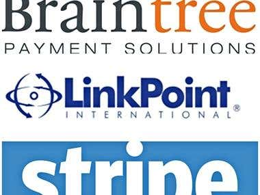 Payment gateway API integration