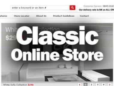 Versatile Online Store