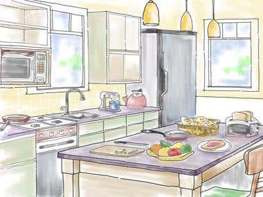 home area sketch