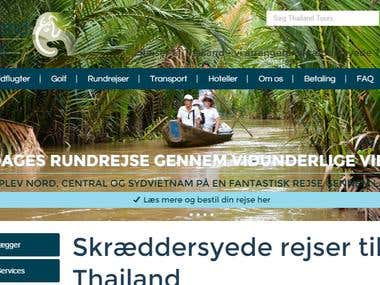 Proofreading of major danish travel website