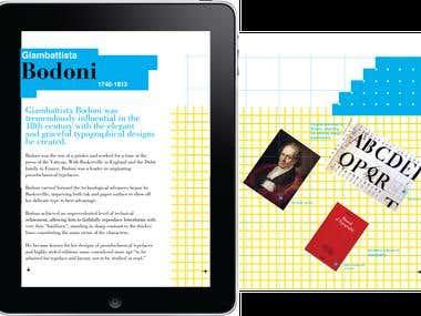 Thinking Type Ipad Magazine