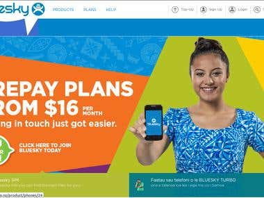 Bluesky New Zealand || Leading Mobile Operator in NZ