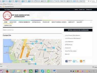 High Court member website chandigarh