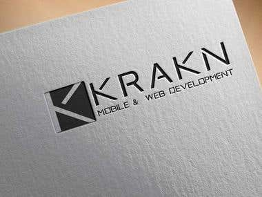 KRAKN Mobile and Web Solution Logo