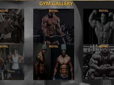 Website for gym