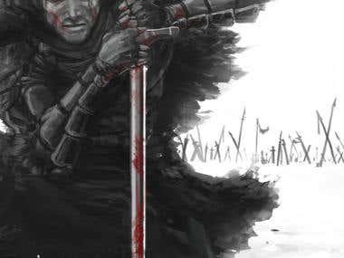 Illustration - Warrior