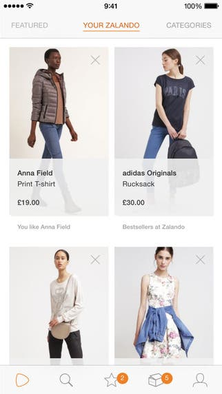 Fashion & Shopping App for iPhone