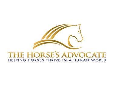 Logo design for a Horses Advocate Professional