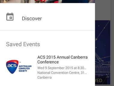 ConferenceDay Android app