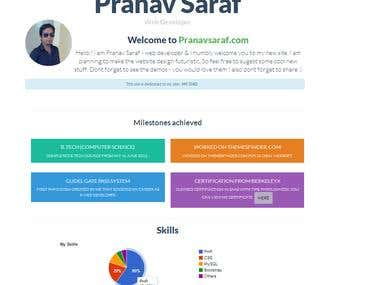 My personal site