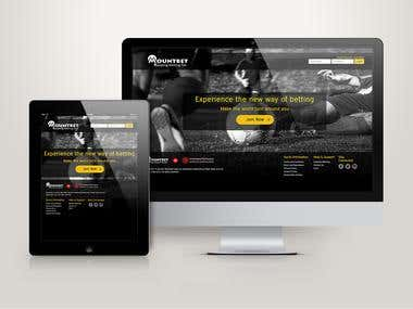 Website for an Online Betting company