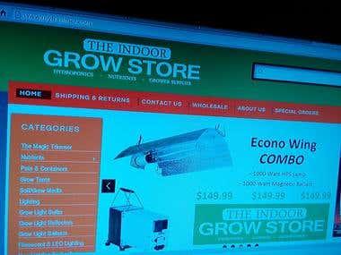 E-commerce Website Sample
