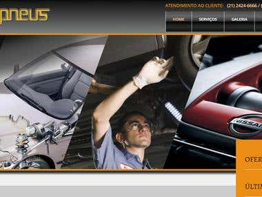 Website for an Autocenter