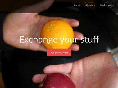 A social exchange website