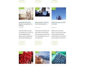 Blog site for health and care
