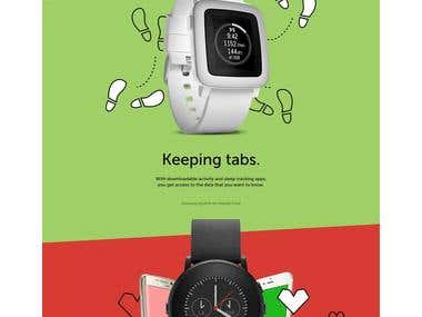 Shopping site for watch and Accessories