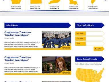 UnitedCoR Web Development