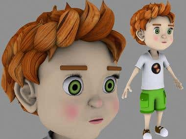 3D ready to animate model