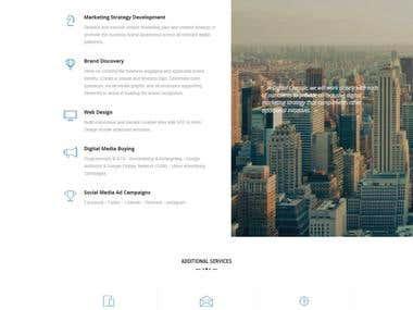 digitalcapsule.ca - 1 Page Responive Website