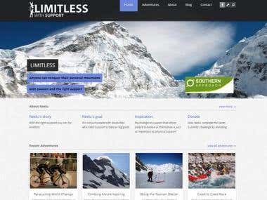 Limitless With Support - website
