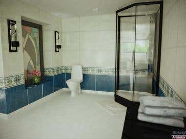 Shower & Lavatory