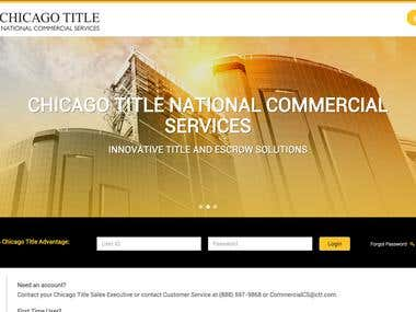 ChicagoTitleAdvantage Website