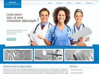 Surgical Website