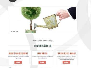 WordPress website for Creative Complex LLC