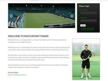 Player website