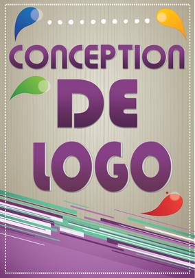 Poster for conception de logo