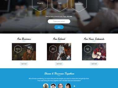 Tiphive - Social Networking App