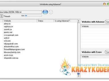 Adsense website checker software