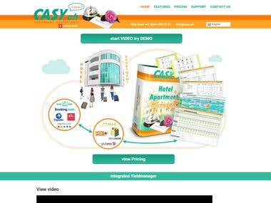 Casy Front Office Hotel Management System