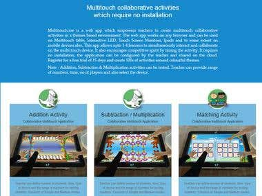 Multitouch Activities